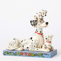 Disney Traditions Jim Shore 101 Dalmatians 55th Pongo, Penny & Rolly Figurine