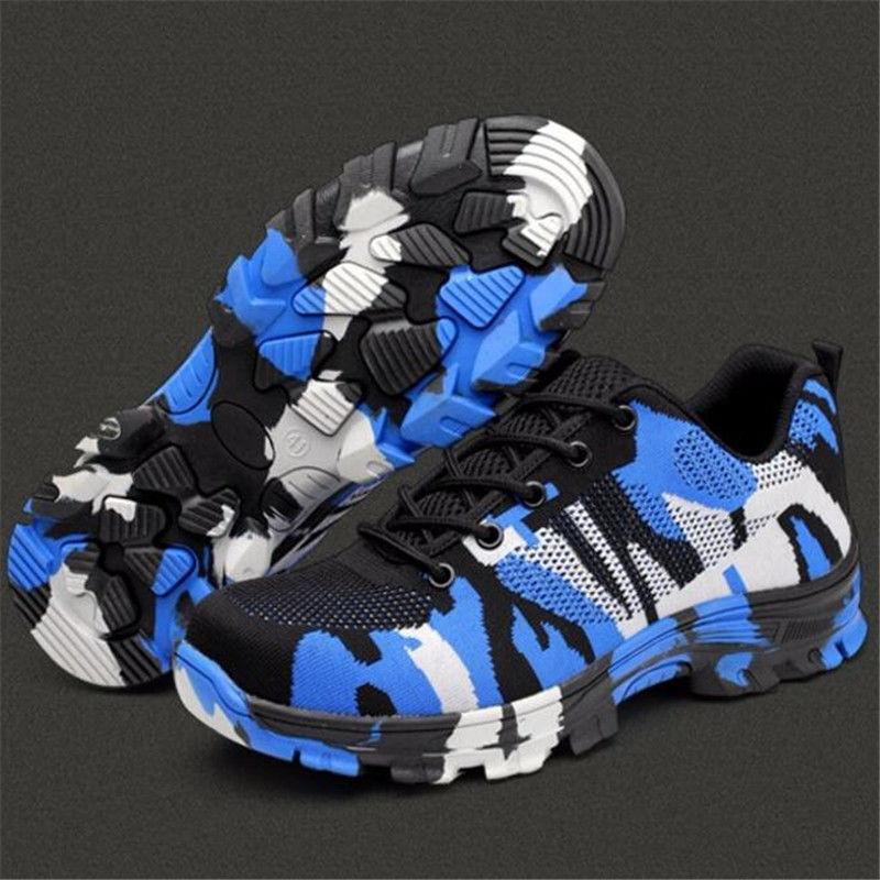 Men's Indestructible Bulletproof Ultra X Predection Work Labor Steel Toe shoes