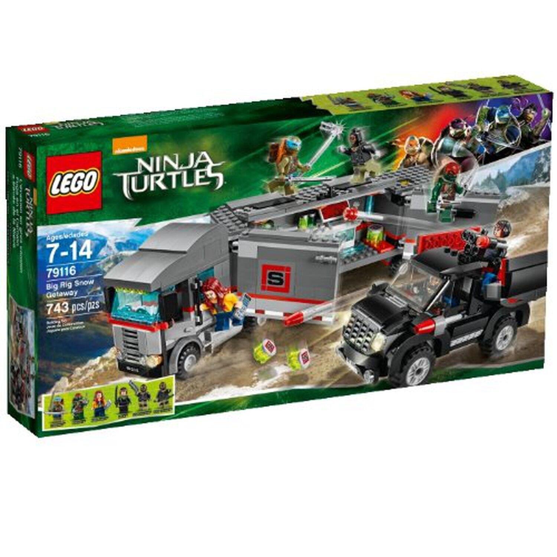 LEGO Teenage Mutant Ninja Turtles BIG RIG Snow Fuga  79116