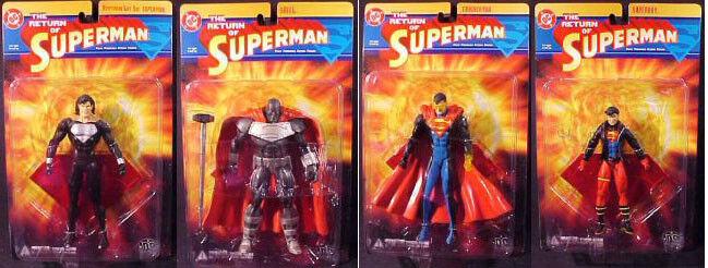 DC Direct _ le retour de Superman __ kryptonien vie Costume _ Acier _ Eradicator, _ Superboy