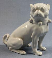 Mops figur hund Porzellanfigur Dresden porzellanmops pug porzellan 1969