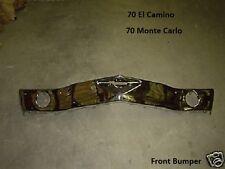 El Camino 70 Bumper Front Chrome Monte Carlo **In Stock**
