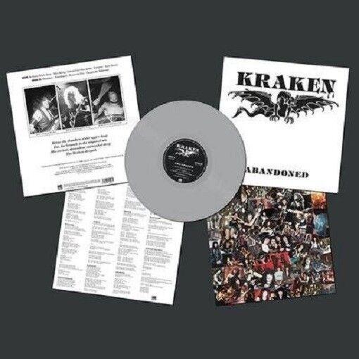 KRAKEN - ABANDONED (SILVER VINYL)   VINYL LP NEW