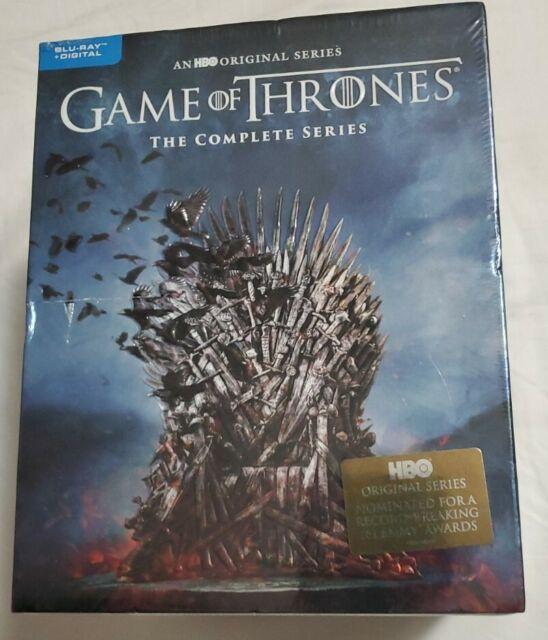HBO Game of Thrones Complete Series (Blu-Ray + Digital Code) Seasons 1-8 New