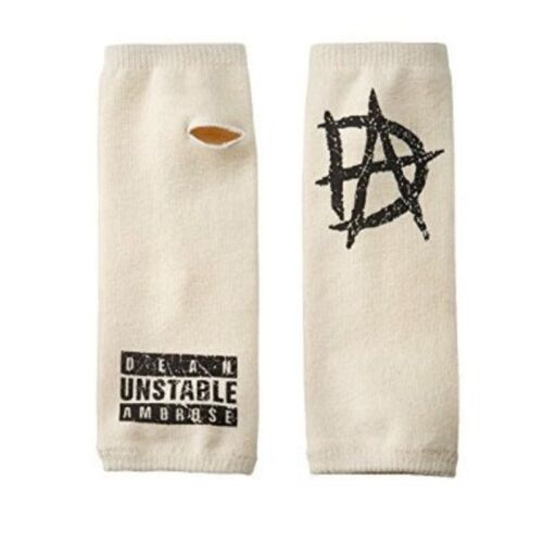 WWE DEAN AMBROSE UNSTABLE WRIST SLEEVES WRISTBANDS OFFICIAL NEW