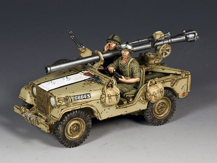 IDF017 Israeli M38 Jeep with 106mm Recoiless Rifle by King and Country