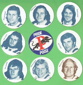 #D371. EIGHTEEN(18)  PENRITH PANTHERS RUGBY LEAGUE COASTERS, MOSTLY PLAYERS