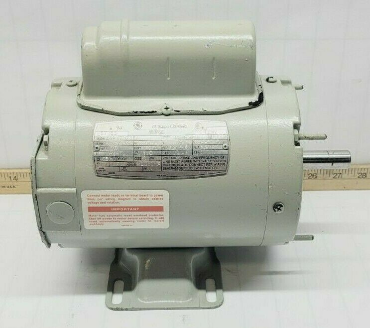 ge 1/3 hp ac electric motor 115/200230 vac 1625/1350 rpm ls56y frame  a4p17nz38a