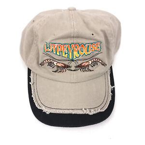Lapeyrouse shrimp hat cap tan unworn hbx104