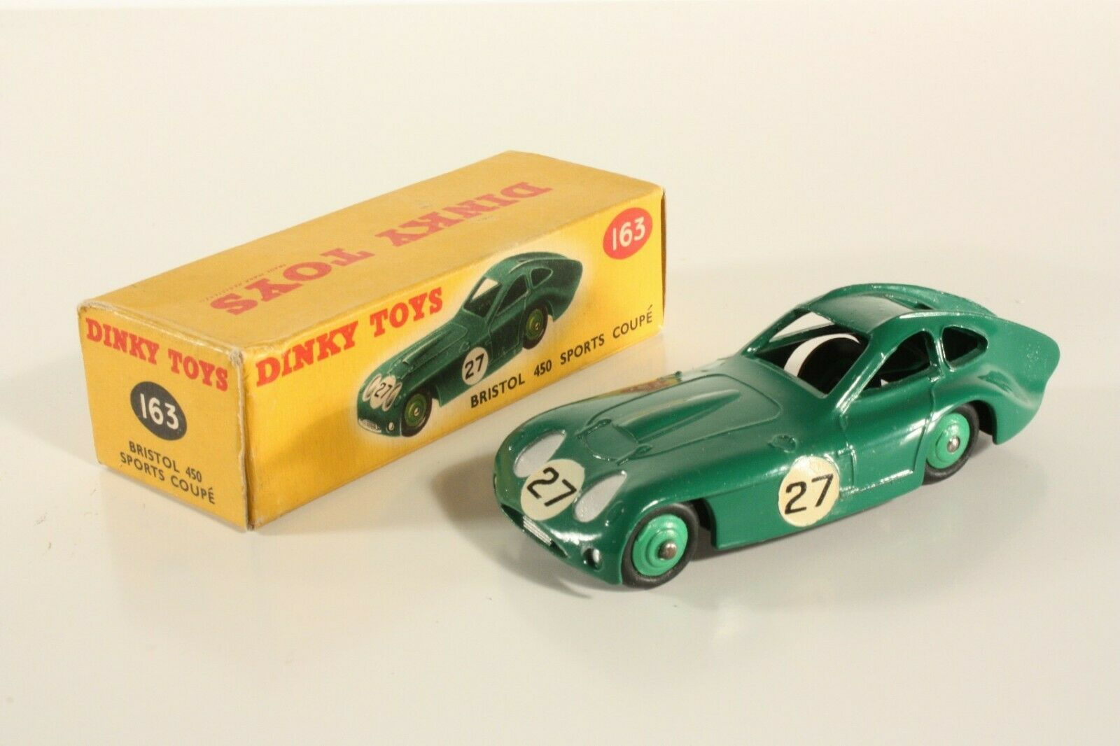 DINKY TOYS 163, BRISTOL 450 Sport  Coupé, Comme neuf in box  ab2267  réductions incroyables