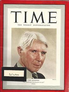 Pulitzer-Prize-Winning-Novelist-Poet-Carl-Sandburg-Profile-Autograph