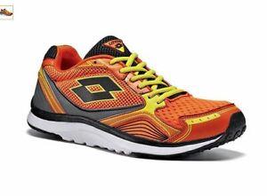 Scarpe-Lotto-Speedride-R5917-Moda-Uomo-Running-Arancio-Confort-Street-Sport