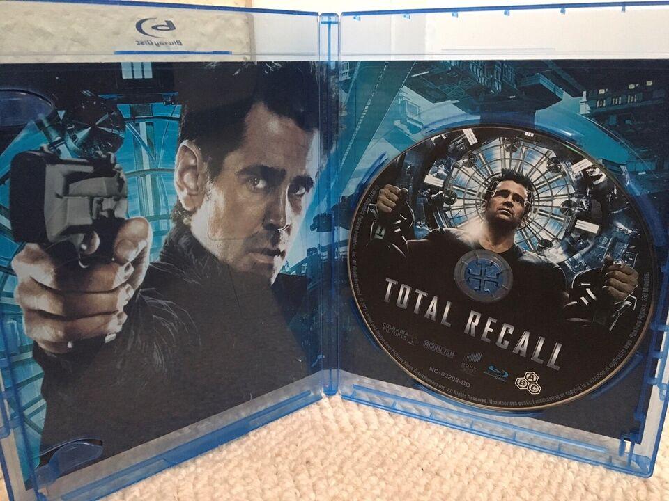 TOTAL RECALL, instruktør LEN WISEMAN, Blu-ray