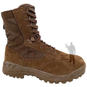 British Army Magnum Scorpion Women/'s Suede Dark Brown Desert Boots Sizes 4//5