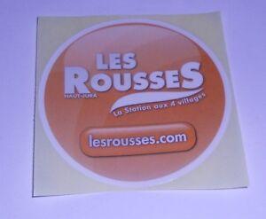 Autocollant-034-Les-Rousses-034-Station-De-Ski