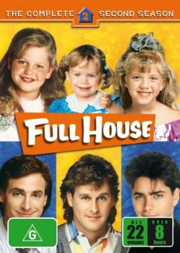 1 of 1 - Full House : Season 2 (DVD, 2006, 5-Disc Set) Brand new and Sealed