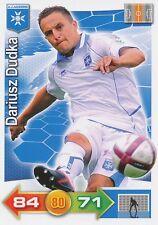 DARIUSZ DUDKA # POLAND POLSKA AJ.AUXERRE CARD PANINI ADRENALYN 2012 - T