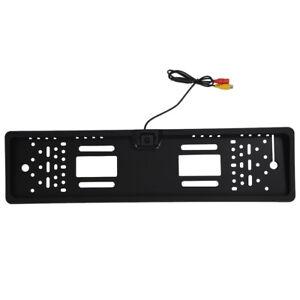 Porta-targa-con-Telecamera-Wired-impermeabile-Visione-notturna-170-auto-C2X2