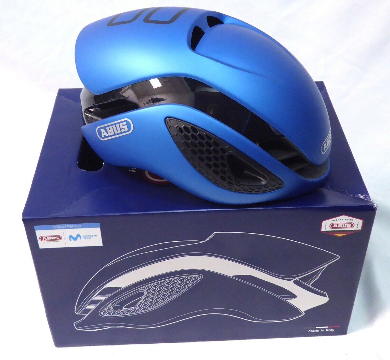 Abus Gamechanger Helmet Steel bleu Medium