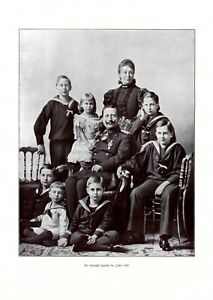 Kaiserliche-Familie-1896-Fotoabb-von-1906-Kaiser-Wilhelm-II-Kaiserin-Auguste