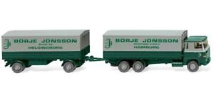 WIKING-046001-Flatbed-Trailer-Scania-111-Car-Model-1-87-H0