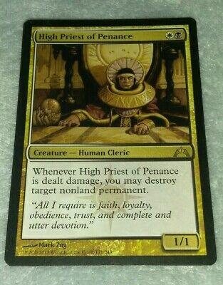 HIGH PRIEST OF PENANCE NM mtg Gatecrash Gold Human Cleric Rare