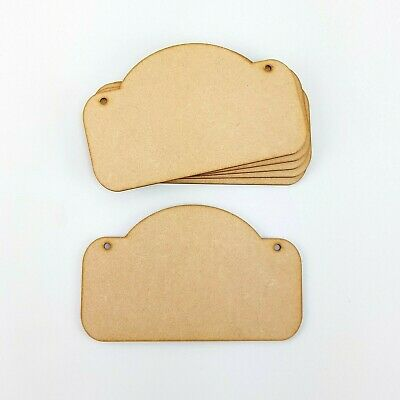 laser cut 3mm mdf embellishments wooden craft ITS A GIRL  shapes