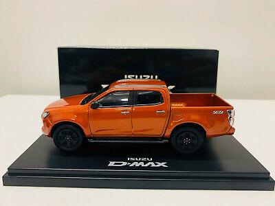 isuzu dmax pick up 4x4 orange 1 43 scale die cast model car new original box ebay