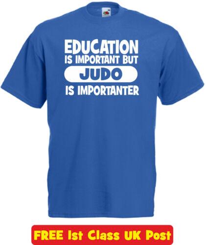L/'éducation Judo T Shirt Drôle Nouveauté Noël Anniversaire Cadeau de Noël homme femme