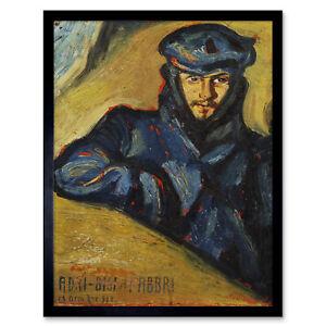 Bisi-Fabbri-Aviator-Pilot-Ricordo-Chavez-Painting-Framed-Wall-Art-Poster