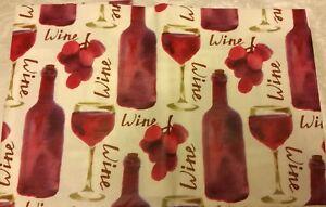 Flannel Back Vinyl Tablecloth 52 Quot X 90 Quot Oblong Grapes