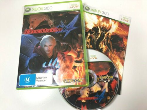 Devil May Cry 4 XBOX 360 Video Game LIKE NEW