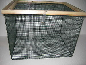 3 ft best floating live fish well basket with 1 2 wire for Fish wire basket
