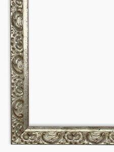 Cornice su misura argento foglia art. 326.011