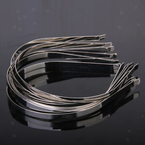 10Pcs-set-7mm-Stainless-Steel-Blank-Headbands-Metal-Hair-Band-Lots-Accessory