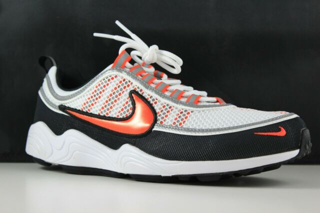 le dernier dd42c c9272 Mens Nike Air Zoom Spiridon 16 Shoes Size 11 White Orange Black 926955