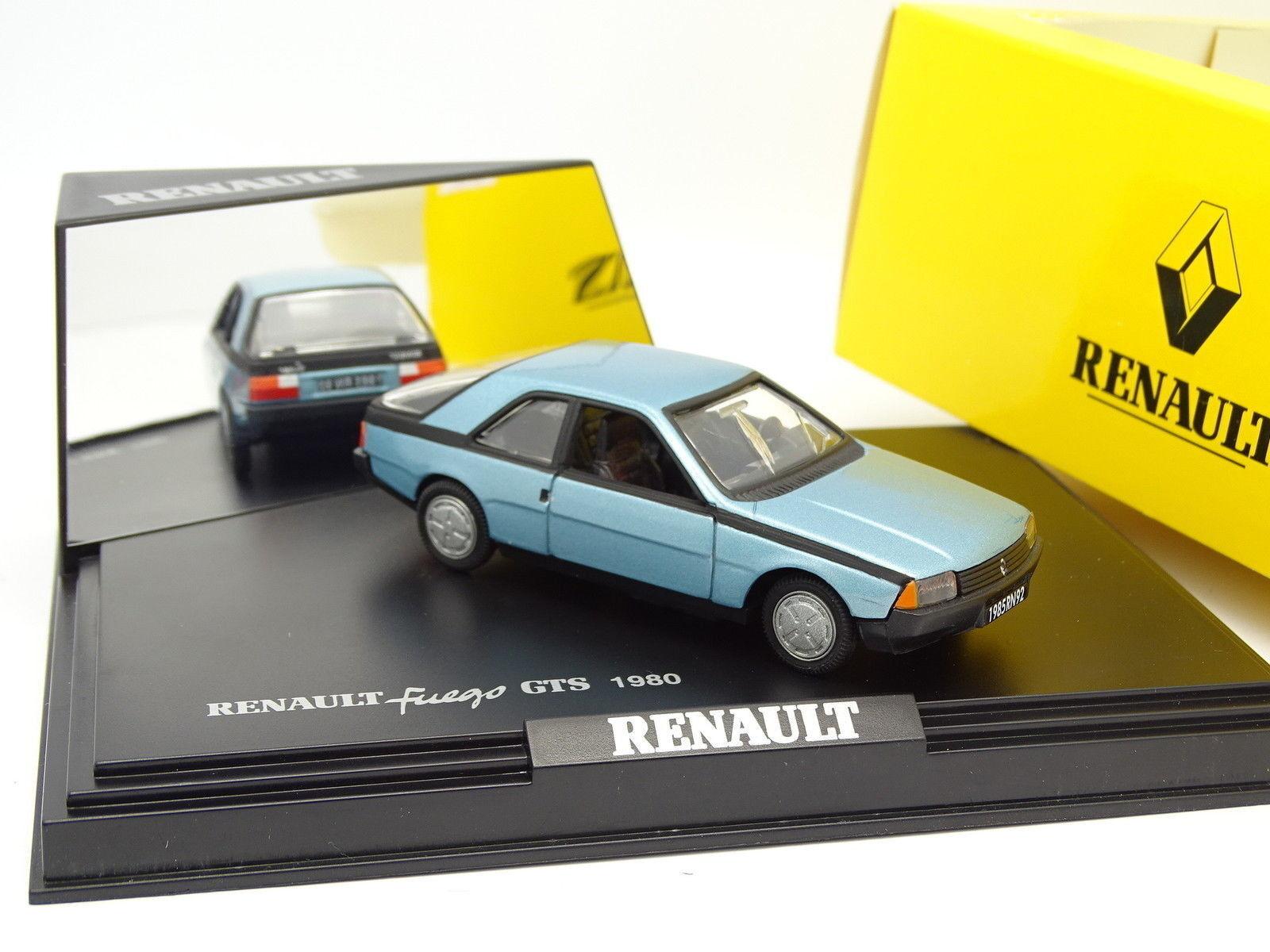 Norev 1 43 - Renault Fuego GTS 1980 Bleue