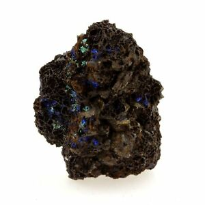 Azurite Col The Baker Isère France Rare Malachite 23.52 Ct