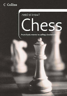 Gillam, Tony, Chess (Collins Need to Know?), Very Good Book