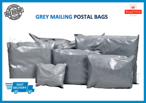 Strong-Grey-Mailing-Post-Mail-Postage-Bags-Poly-Postal-Self-Seal-ALL-SIZES