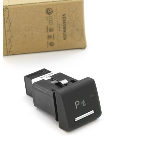 PDC Schalter Einparkhilfe Druckknopf Betätigung chrom Original Audi RS4 8E