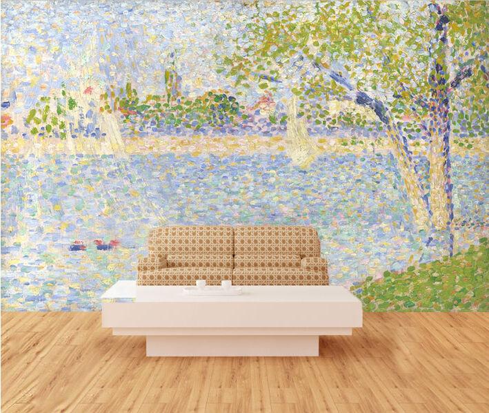 3D Abstrakte Malerei Fototapeten Wandbild Fototapete Bild Tapete Familie Kinder