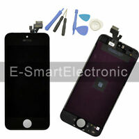 For iPhone 5 Black LCD Display Digitizer Touch Screen Assembly Replacement +Tool