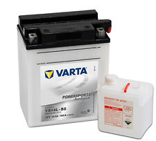 Batterie moto Varta  YB14L-B2 12V 14ah