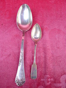 2 Beautiful, Old Spoon ____ 800 Silver__