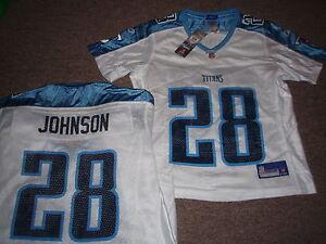 WOMEN'S REEBOK NFL TITANS CHRIS JOHNSON JERSEY S | eBay