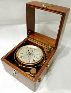 THOMAS-MERCER-MARINE-SCHIFFS-CHRONOMETER-von-ca-1950-Nr-19780