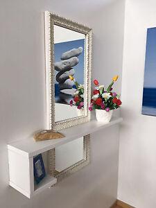 Dettagli Su Mobile Moderno Ingresso Design Con Specchio E Consolle Entrata Anche Su Misura
