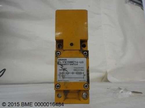 OMRON TL-YS15MC14-US PROXIMITY SWITCH 12 TO 24 VDC