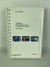 New Tektronix Tds2mem Storage Memory Amp Comm Module User Manual Pn 071 1262 00